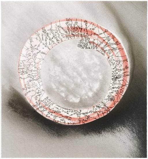 Ian Boyden & Timothy C. Ely, Squaring the Circle No. 12 2010, mixed media on paper