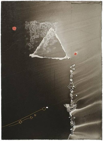 Ian Boyden & Timothy C. Ely, Recapitulations of Emptiness  6 2010, mixed media on paper