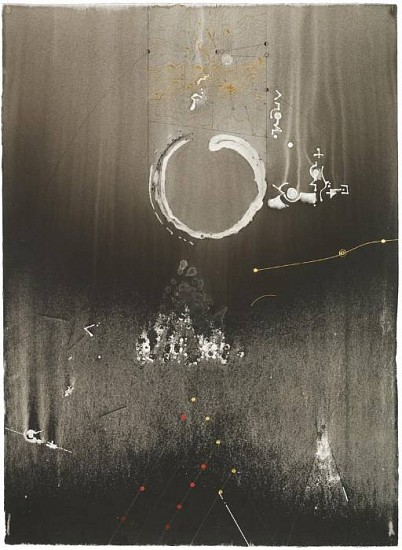 Ian Boyden & Timothy C. Ely, Recapitulations of Emptiness 12 2010, mixed media on paper