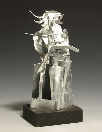 Harold Balazs, Brittle Person 2009, galvanized iron & wood
