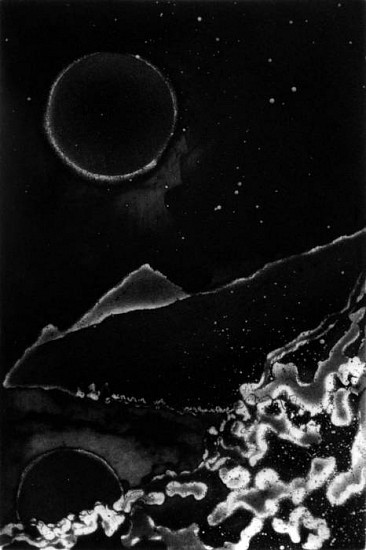 Frank Boyden, Gifts of the Sky 1 aquatint/drypoint/spitbite/mezzotint