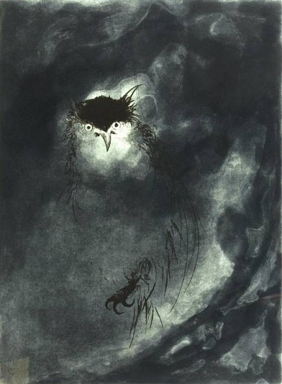 Frank Boyden, Eclipse aquatint, drypoint