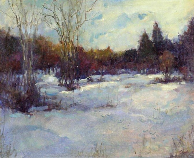 Don Ealy, Winter 06/07 2007, oil on canvas