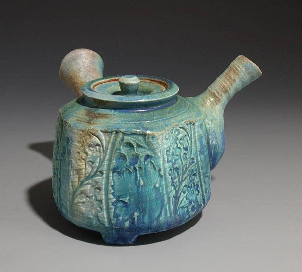 Terry Gieber, Side Handled Teapot 2007, stoneware