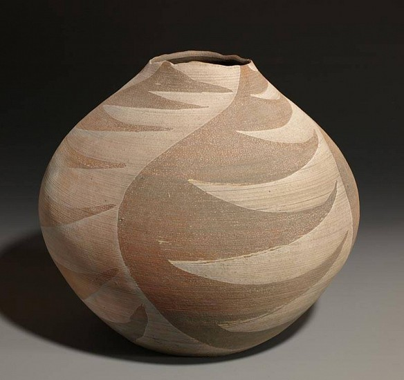 Terry Gieber, Mimbres Homage Jar 2008, stoneware