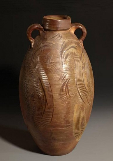 Terry Gieber, Spawning Jar 2008, stoneware, wood-fired