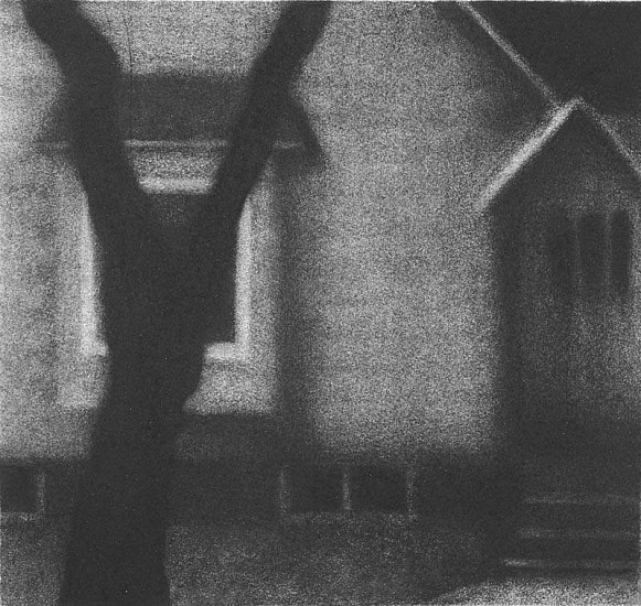 Elaine Green, House #2 2007, charcoal