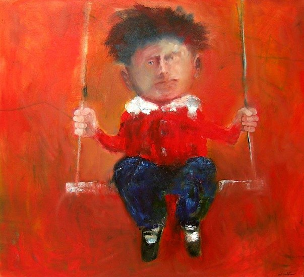 Mel McCuddin, A Privileged Child 2006, oil on canvas