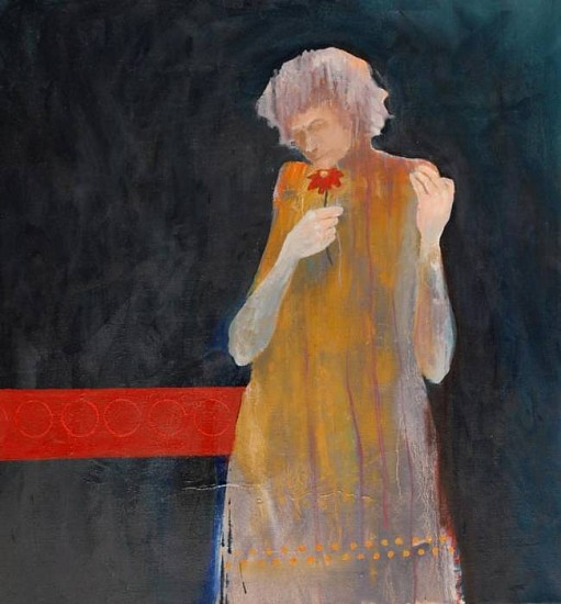 Mel McCuddin, Wistful Woman 2009, oil on canvas