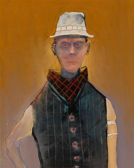 Mel McCuddin, The Dandy 2010, oil on canvas