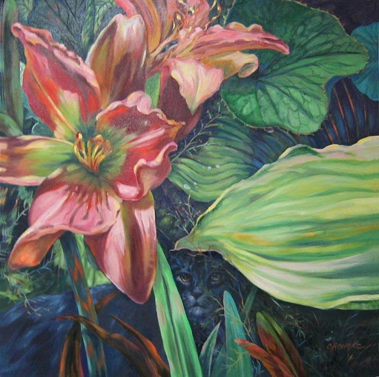 Kay O'Rourke, Sum & Substance 2009, oil on canvas