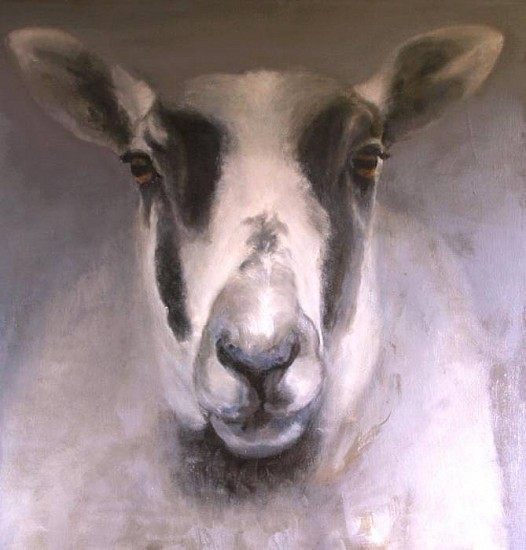 Claudia Pettis, Portrait of Ewe 2009, oil on linen