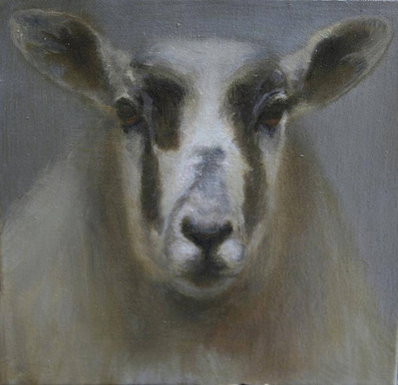 Claudia Pettis, Portrait of Ewe 2010, oil on linen