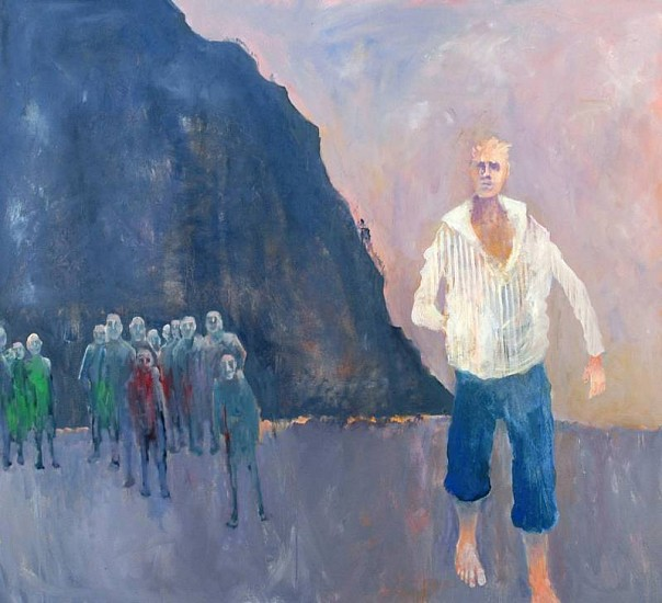 Mel McCuddin, The Rock 2004, oil on canvas