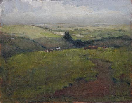 Don Ealy, Hills Near Chewelah oil