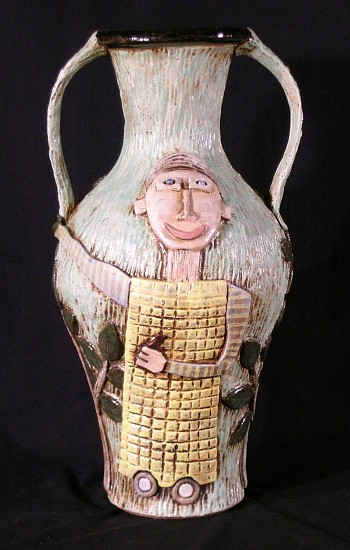John Taylor, Carousing With My Tree Friends 2005, stoneware