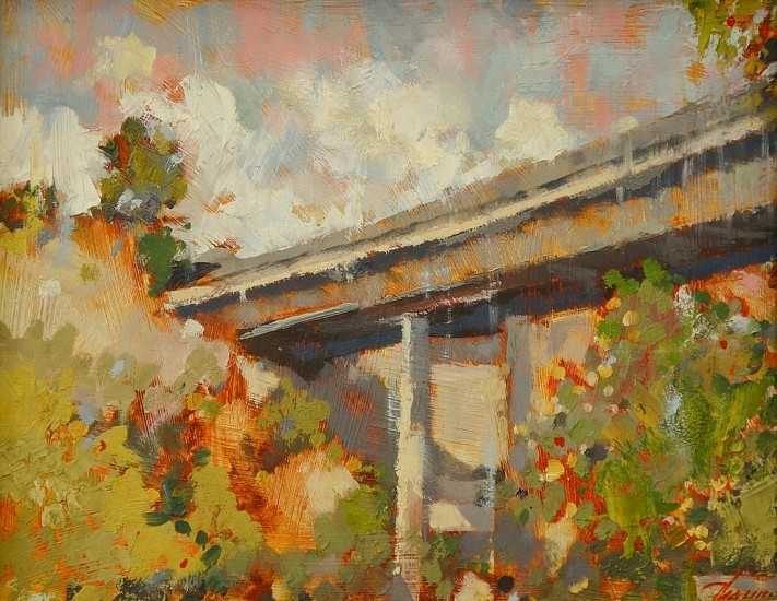 John Thamm, Gateway to Kendall Yards 2010, oil