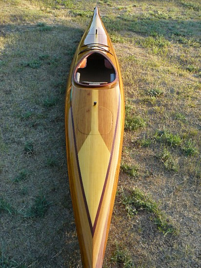 Mark Vore, Cedar Strip Kayak -2 2011