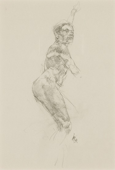 Peter Cox, Untitled Study I 2009, pencil on paper