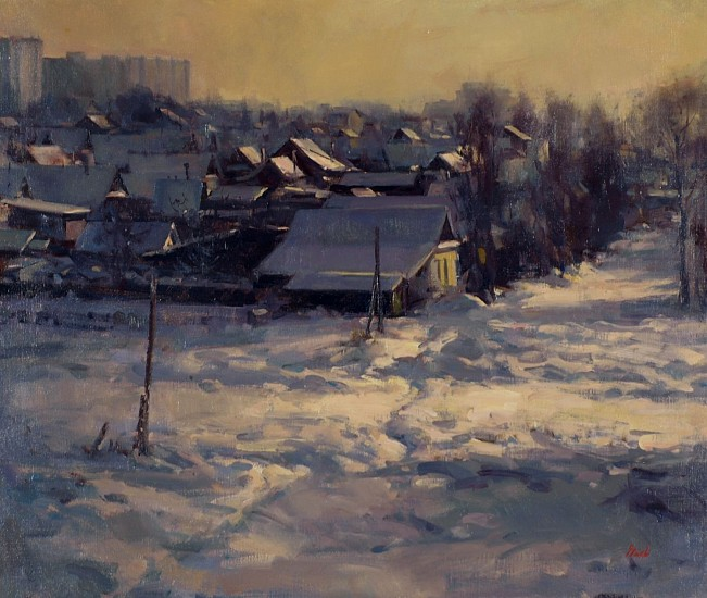 Del Gish, Evening in Tver oil