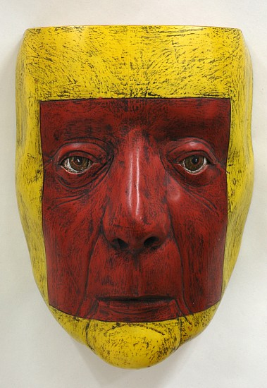 Michael de Forest, Willa 2015, yellow cedar, milk paint