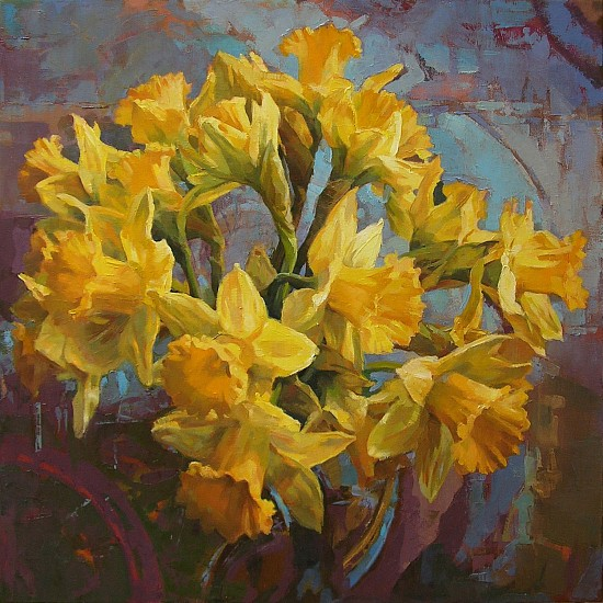 Victoria Brace, A Bunch of Daffodils 2016