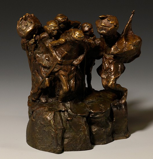 George Carlson, Dancers of Norogachic 1975, bronze