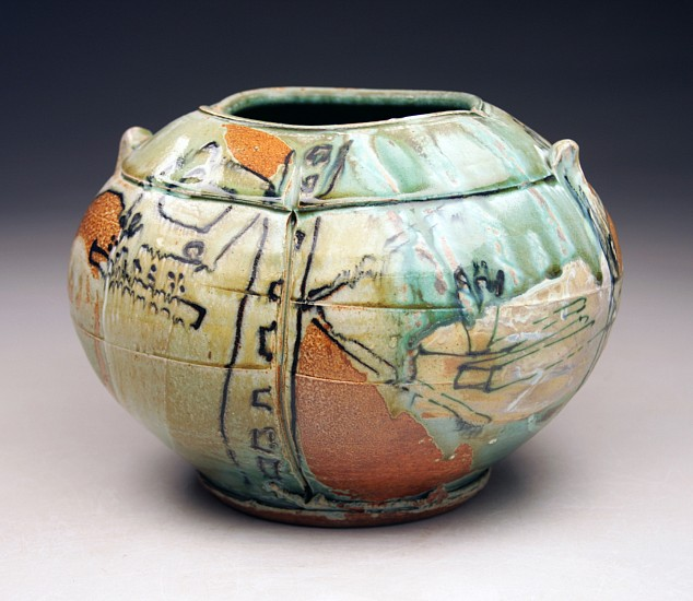 Josh DeWeese, Jar 2011, salt/soda fired stoneware