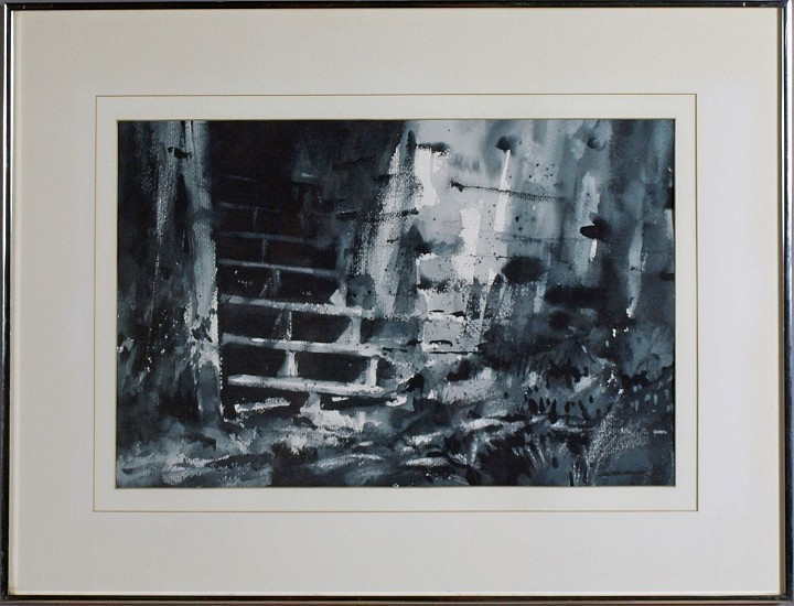 Stan Miller, Stairs water color