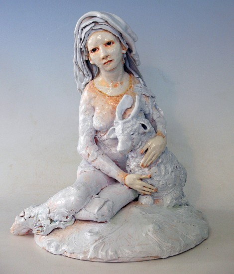 Cary Weigand, Love and Compassion 2015, porcelain