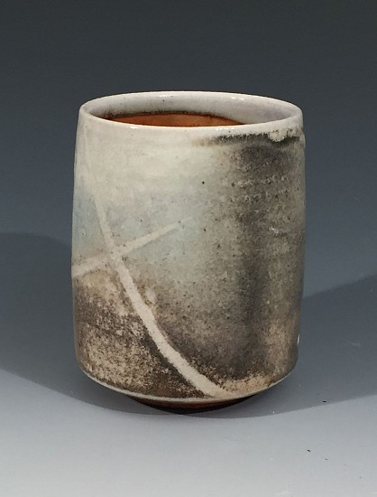 Chris Kelsey, Cup 4 - Tumbler 2017, wood/soda fired stoneware