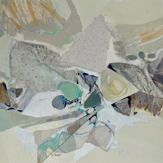 Carla O'Connor, Sand Dune 2019, watermedia