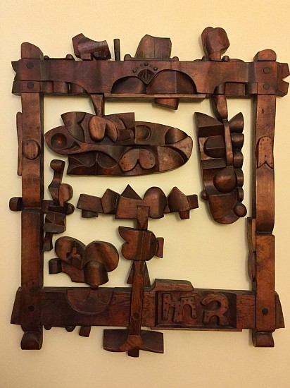 Harold Balazs, Untilted 1966, carved wood