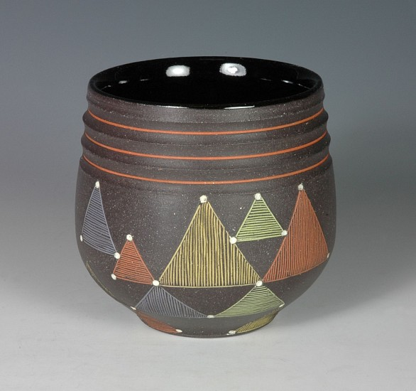Debra Oliva, Mountains in Autumn 2018, stoneware