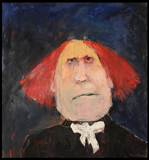 Mel McCuddin, The Red Haired Pilgrim 2019, oil