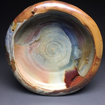 Mat Rude, Blate (2 of 2) 2019, soda-fired stoneware